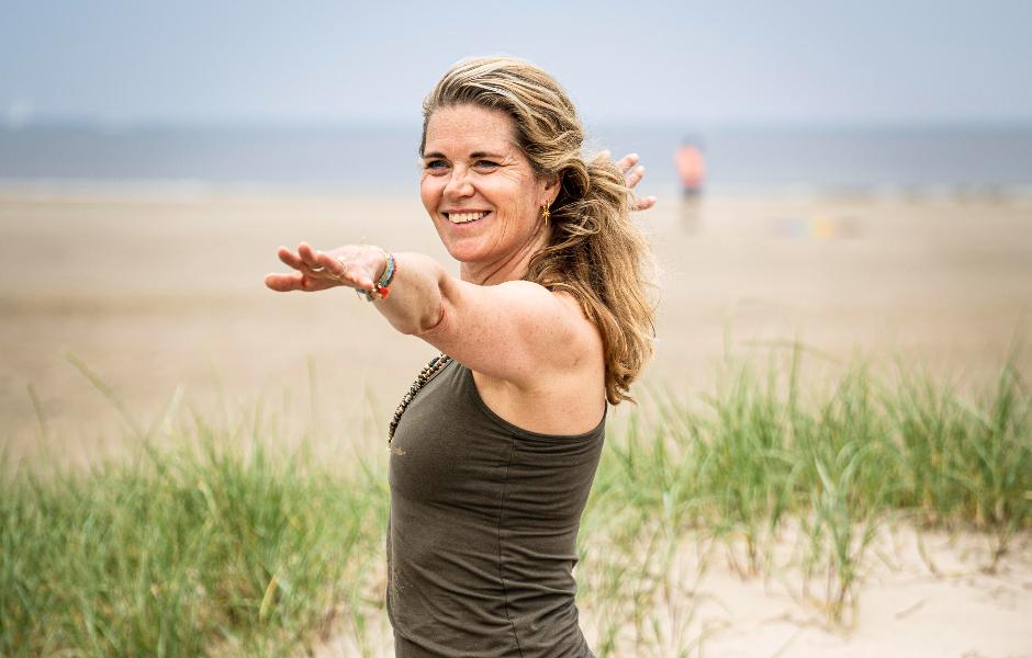 Yoga met Sas